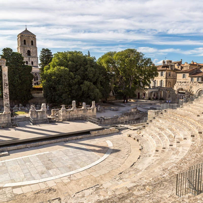 Création du site d'un hôtel à Arles - Concepteurs professionnels intervenant à Arles