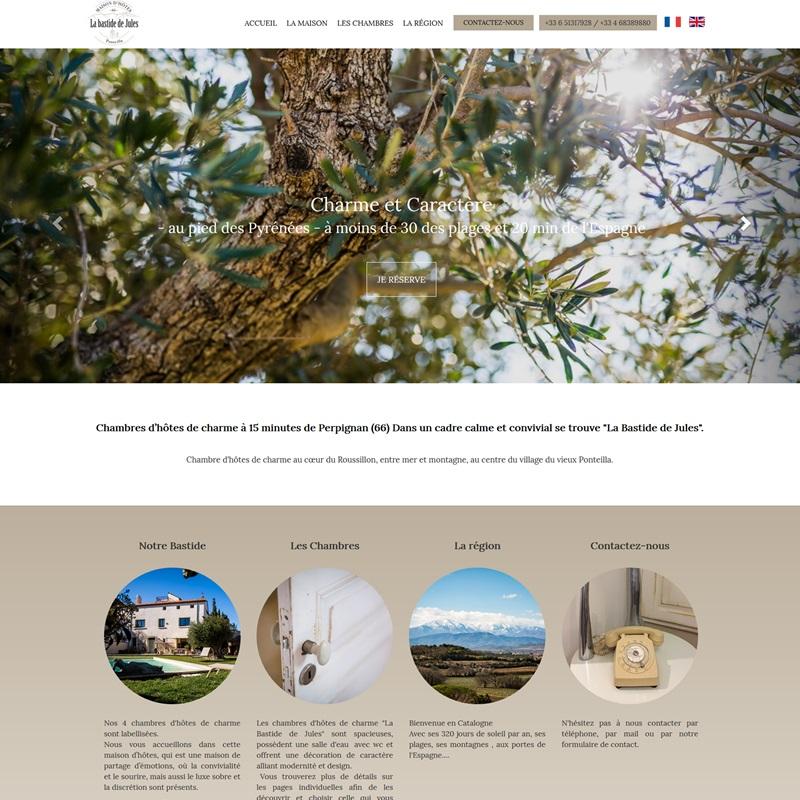 Création d'un site de réservation en ligne à Montpellier