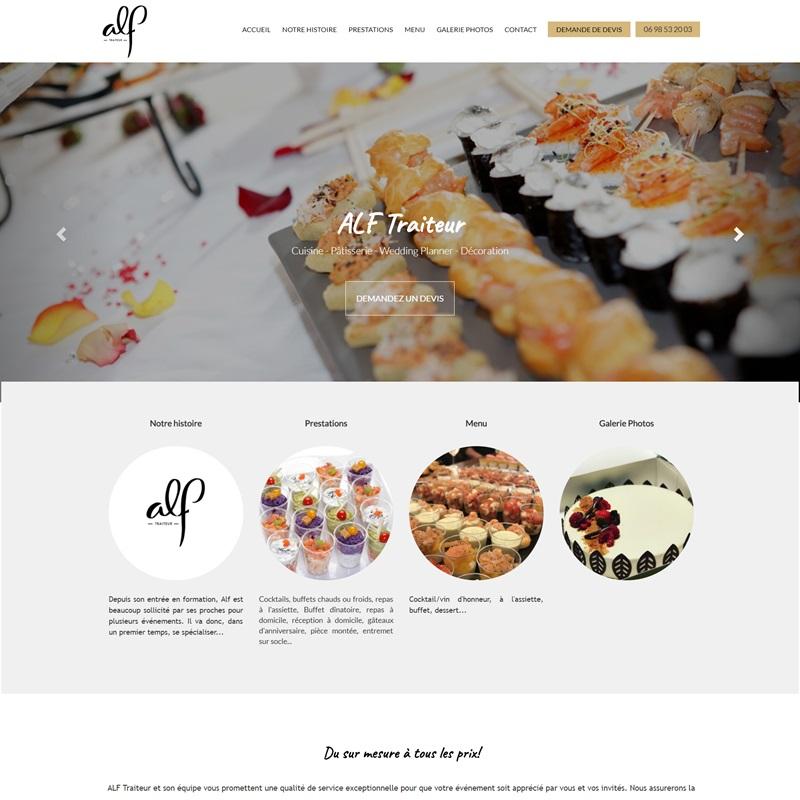 Création d'un site à Alès avec des galeries photos