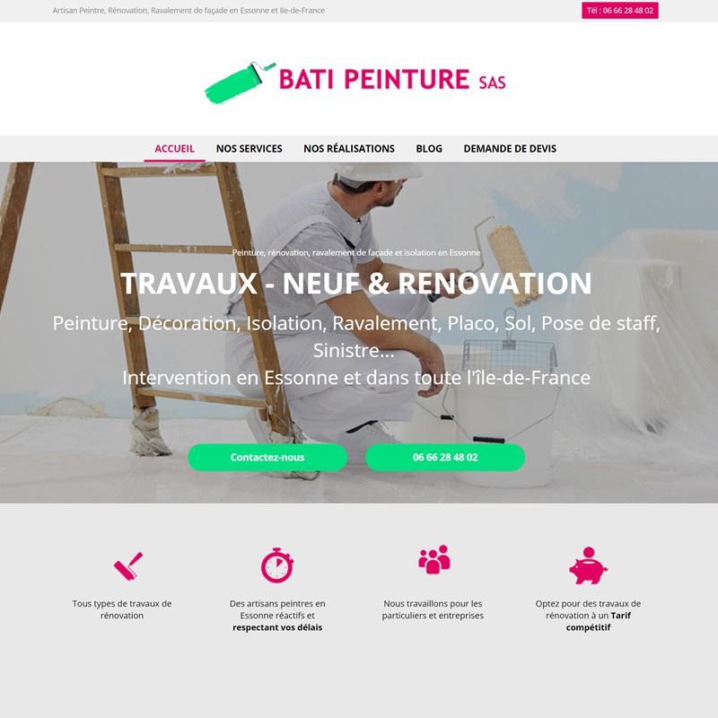 Création site Internet Alès - pour artisan et secteur du bâtiment
